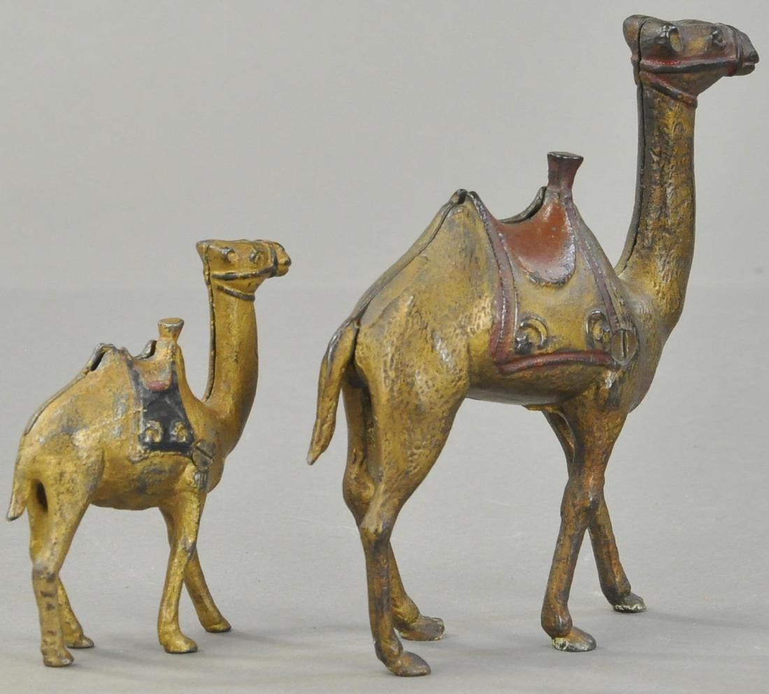 PAIR OF CAMEL STILL BANKS - 3