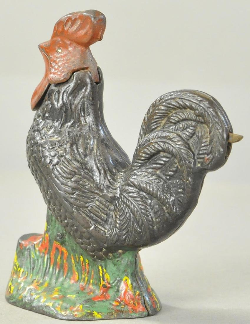 KYSER & REX ROOSTER MECHANICAL BANK - 3