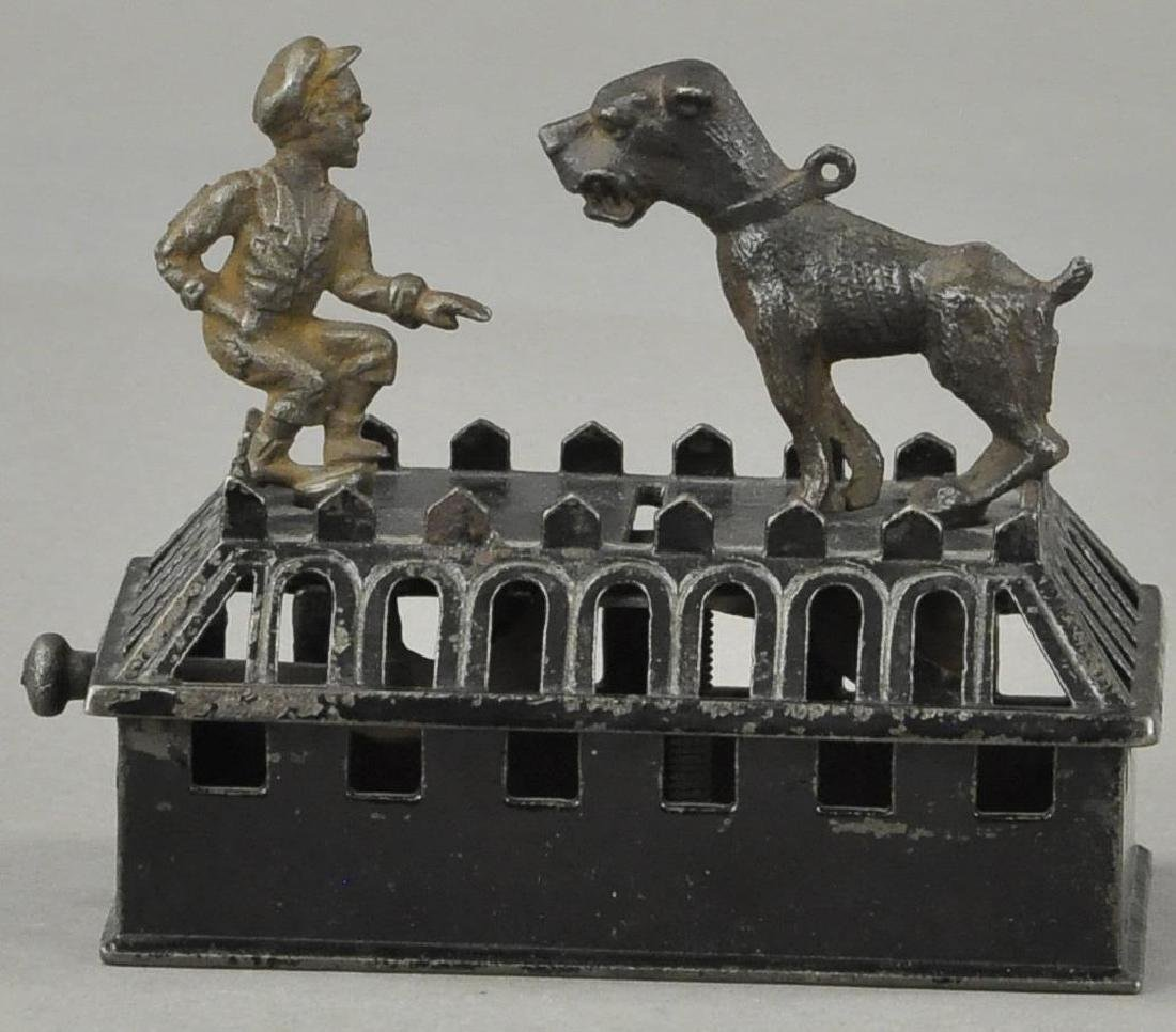 JUDD BOY & BULL DOG MECHANICAL BANK