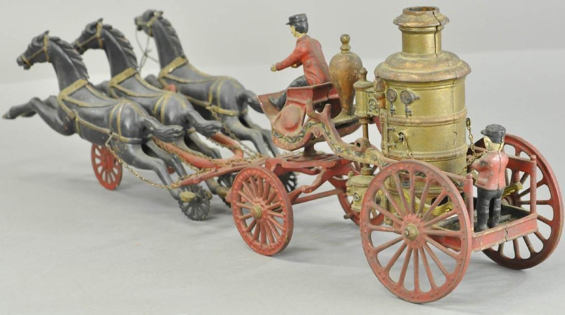 IDEAL MFG HORSE DRAWN FIRE PUMPER - 3