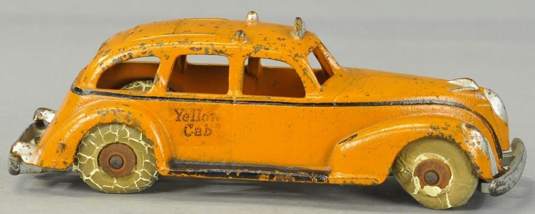 ARCADE 1940S YELLOW CAB - 3