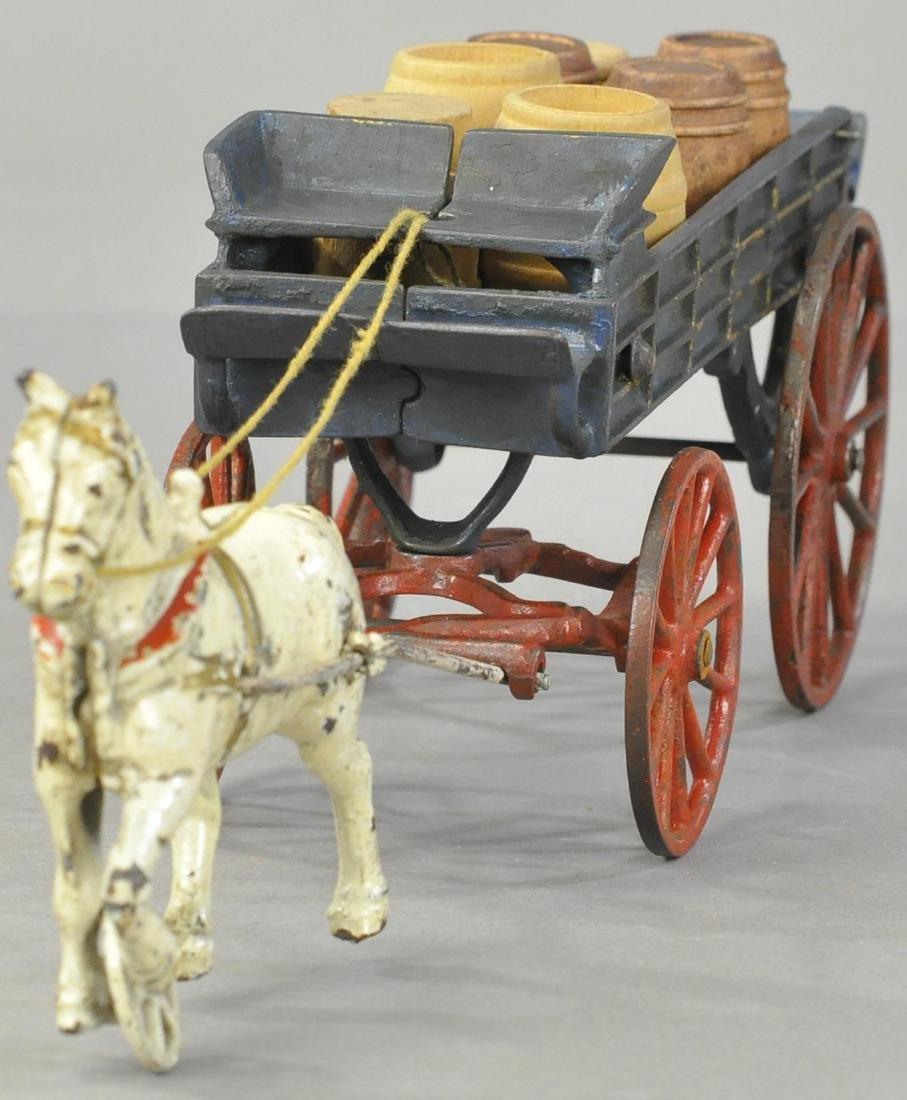 KENTON SINGLE HORSE DRAY WAGON - 2