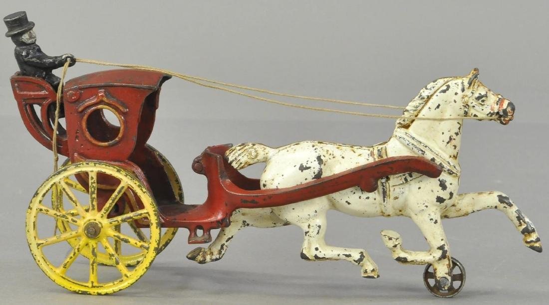 HORSE DRAWN HANSOM CAB