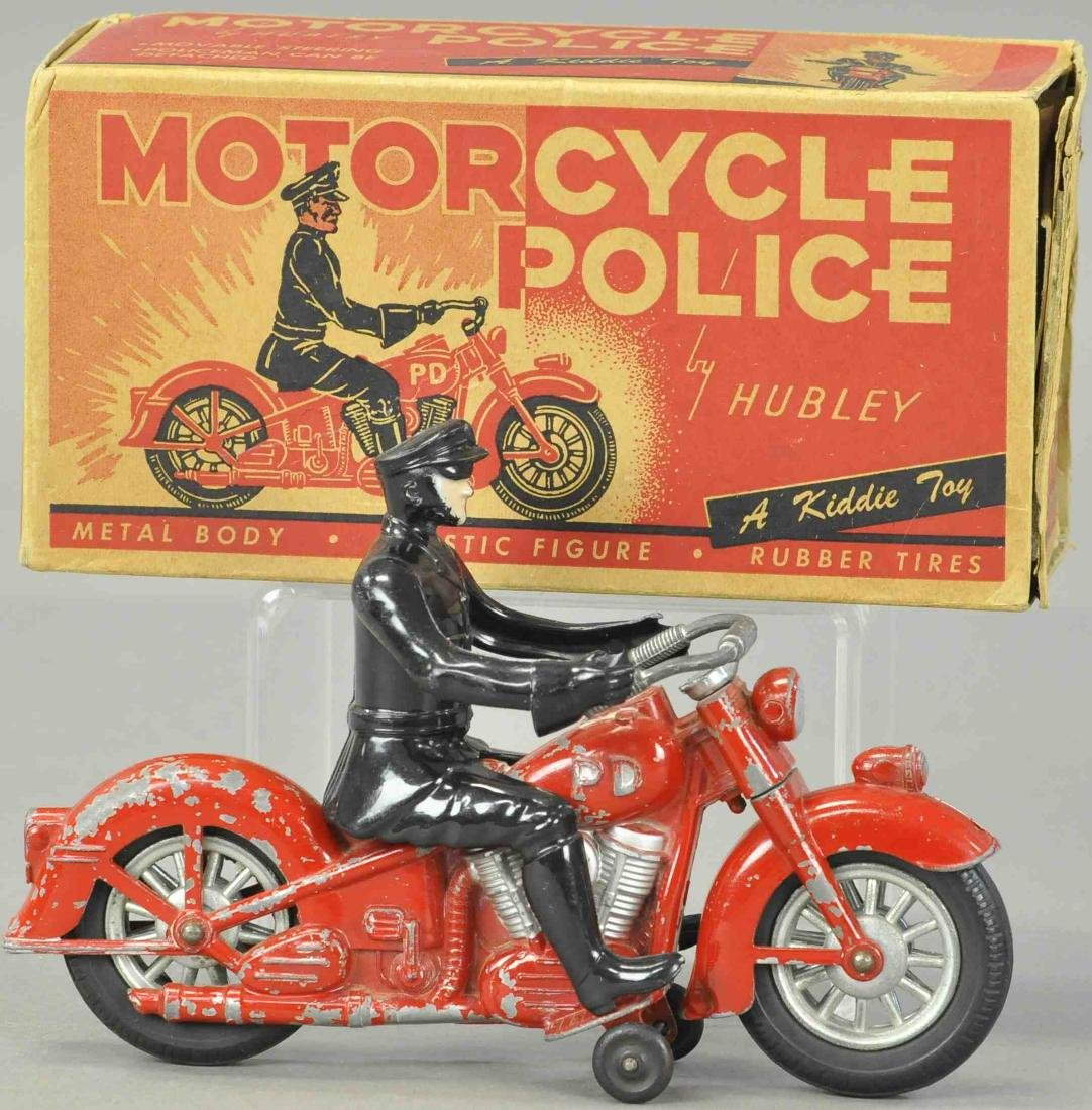 BOXED KIDDIE TOY RED CYCLE