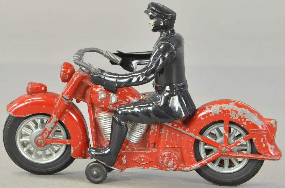 BOXED KIDDIE TOY RED CYCLE - 3