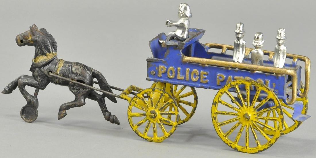 HUBLEY HORSE DRAWN POLICE PATROL - 2