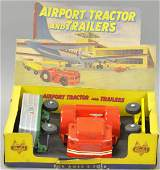 BOXED DOEPKE AIRPORT TRACTOR TRAILER