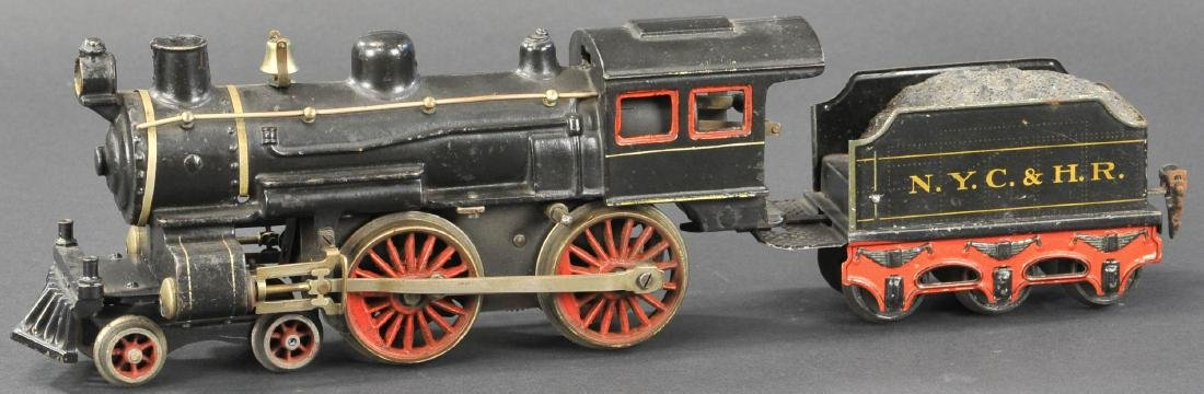 MARKLIN 4-4-0 CAST IRON LOCO W/ NYC & HR TENDER