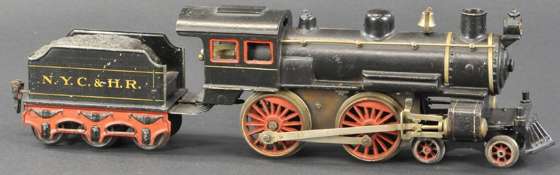 MARKLIN 4-4-0 CAST IRON LOCO W/ NYC & HR TENDER - 2