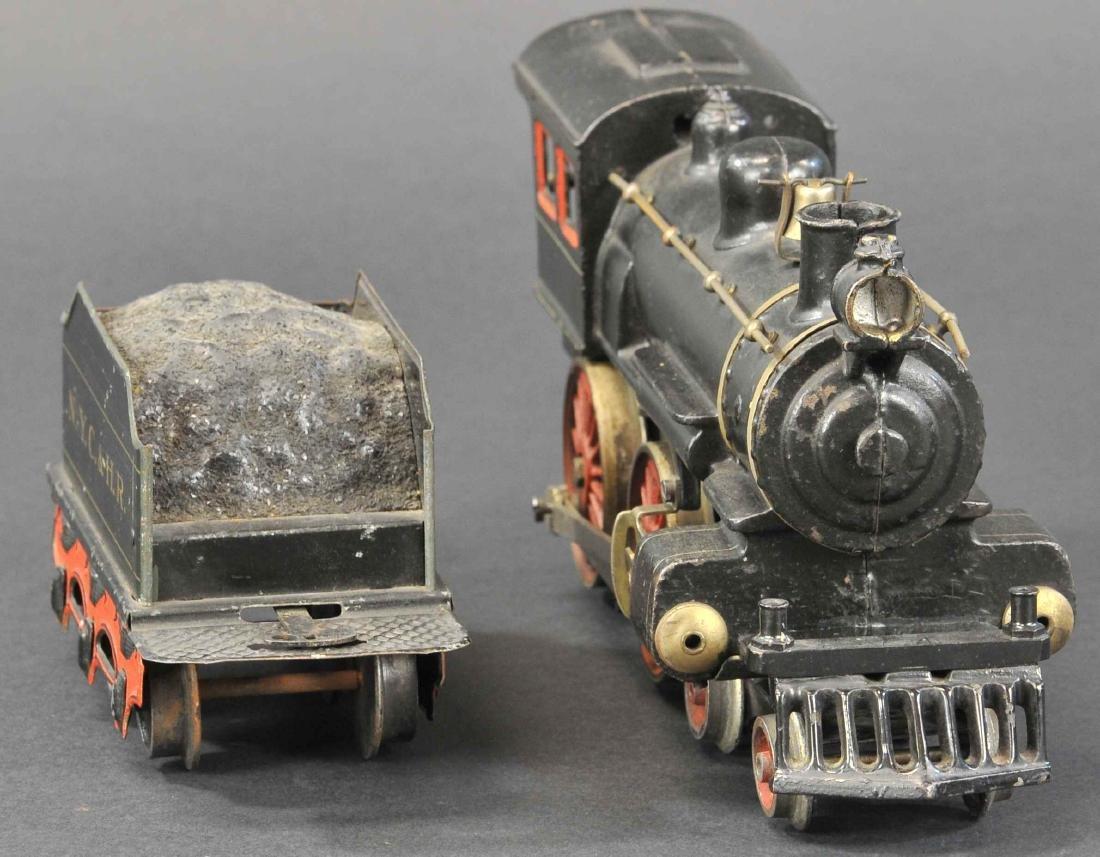 MARKLIN 4-4-0 CAST IRON LOCO W/ NYC & HR TENDER - 3