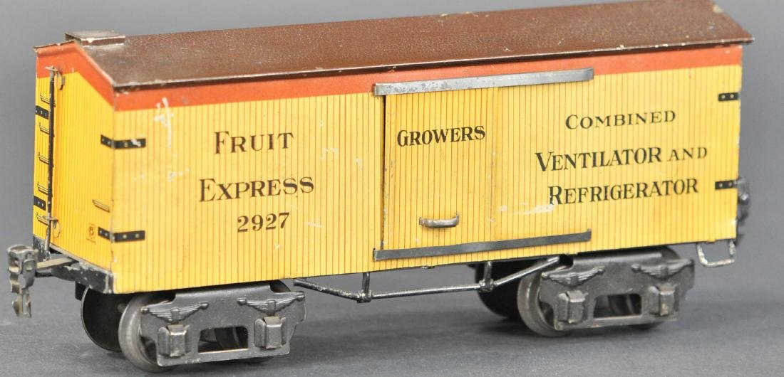 MARKLIN LITHO FRUIT EXPRESS REFRIGERATOR CAR - 2