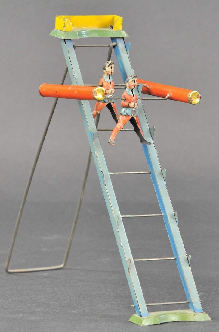 ACROBATS ON A LADDER GRAVITY TOY