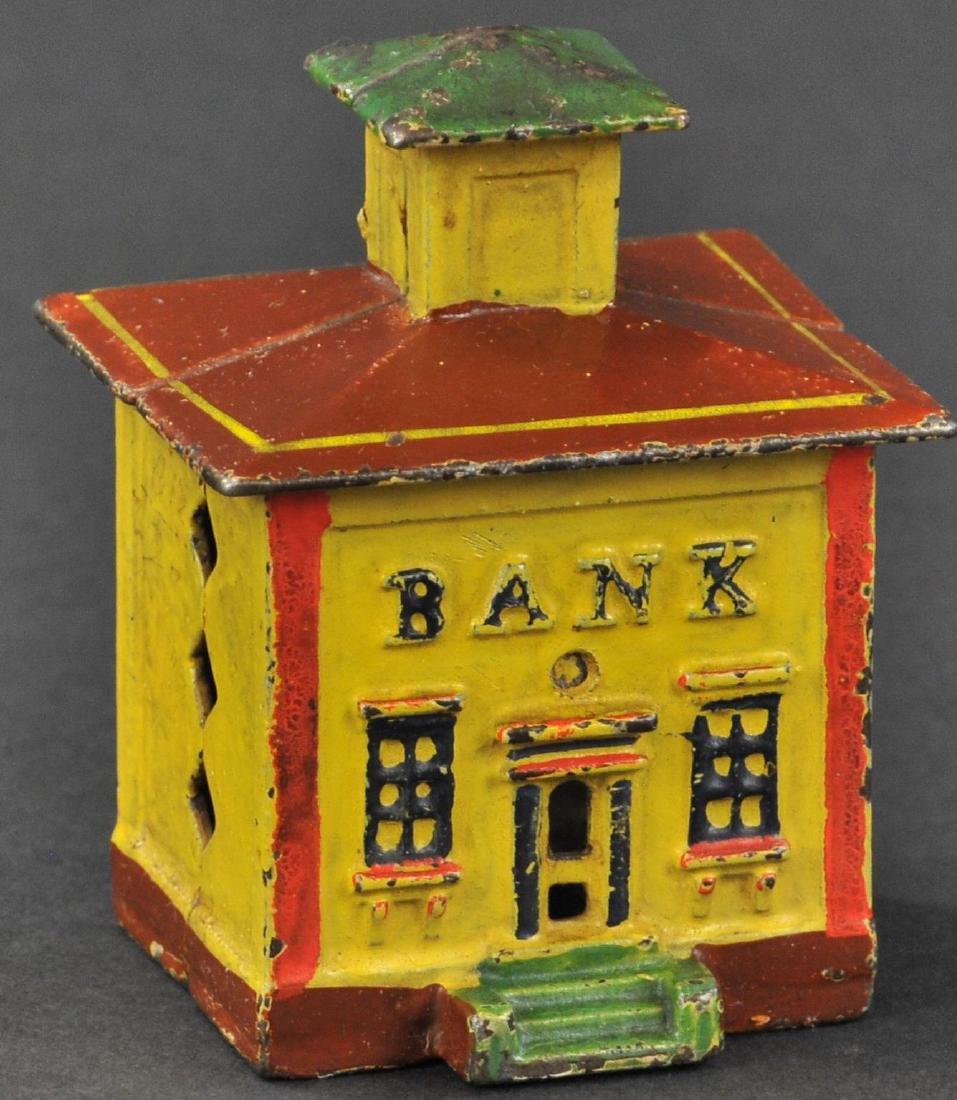 SMALL CUPOLA BANK STILL BANK