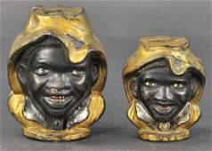 TWO-FACED BLACK BOY STILL BANKS