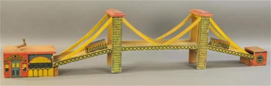 BROOKLYN BRIDGE WITH POWERHOUSE