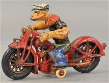 HUBLEY POPEYE ON MOTORCYCLE