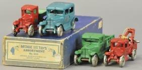 BOXED ARCADE 1928 MODEL \'A\' ASSORTMENT