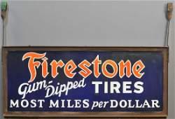 FIRESTONE TIRES SIGN