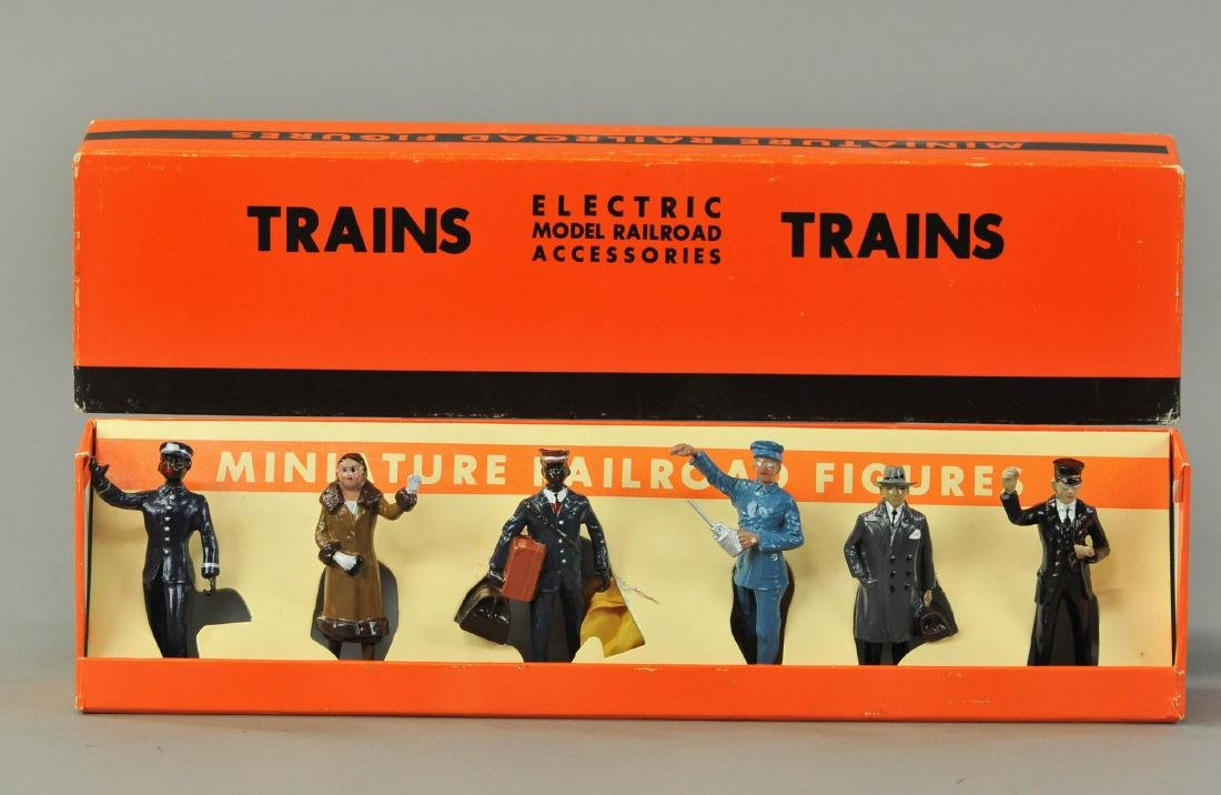 BOXED MTH LIONEL NO. 550 MINIATURE RAILROAD FIGURES