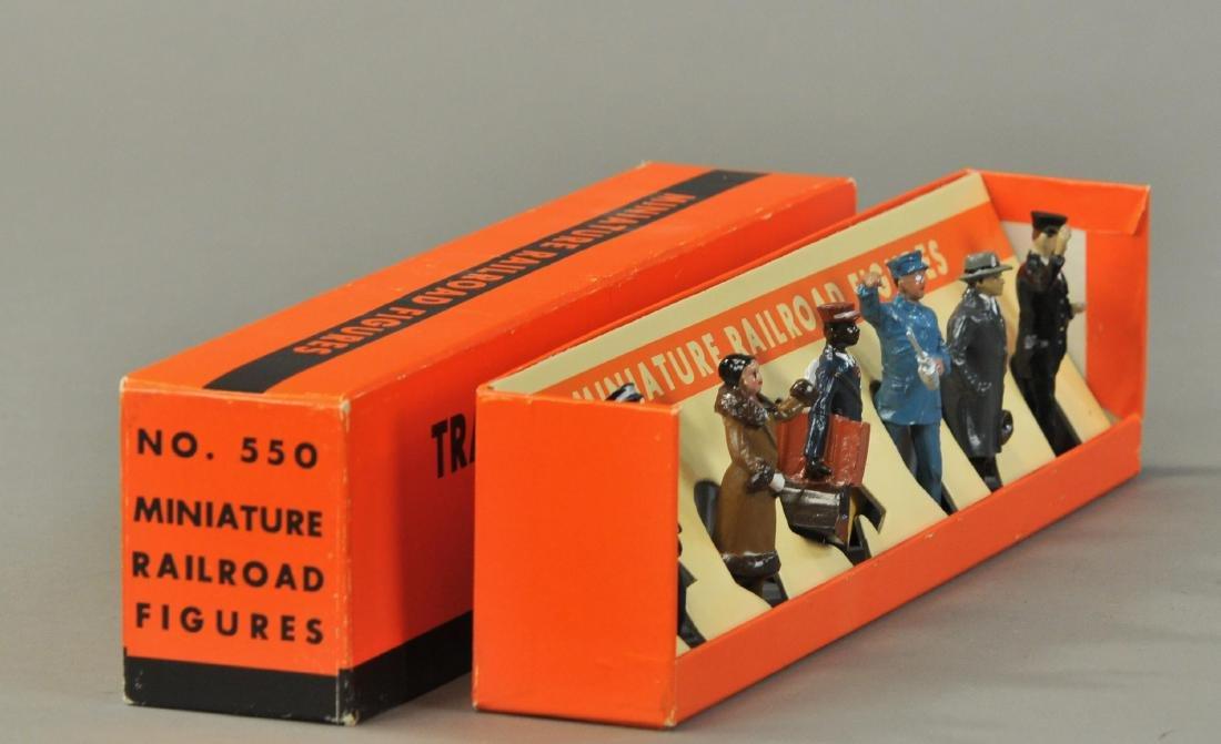 BOXED MTH LIONEL NO. 550 MINIATURE RAILROAD FIGURES - 2