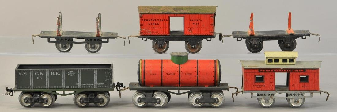 GROUP OF IVES FREIGHT CARS - 2