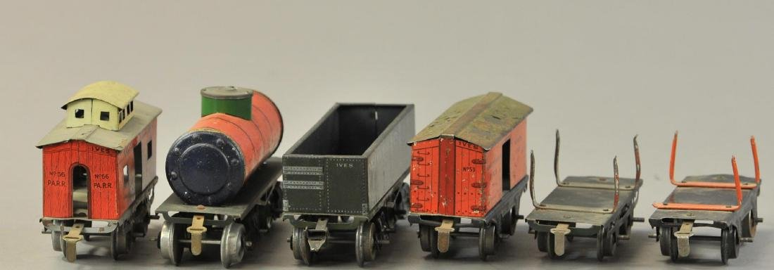 GROUP OF IVES FREIGHT CARS - 3