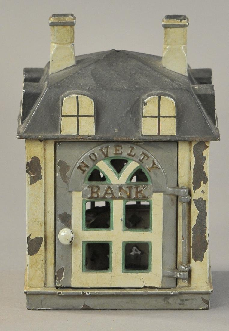 NOVELTY BANK MECHANICAL BANK