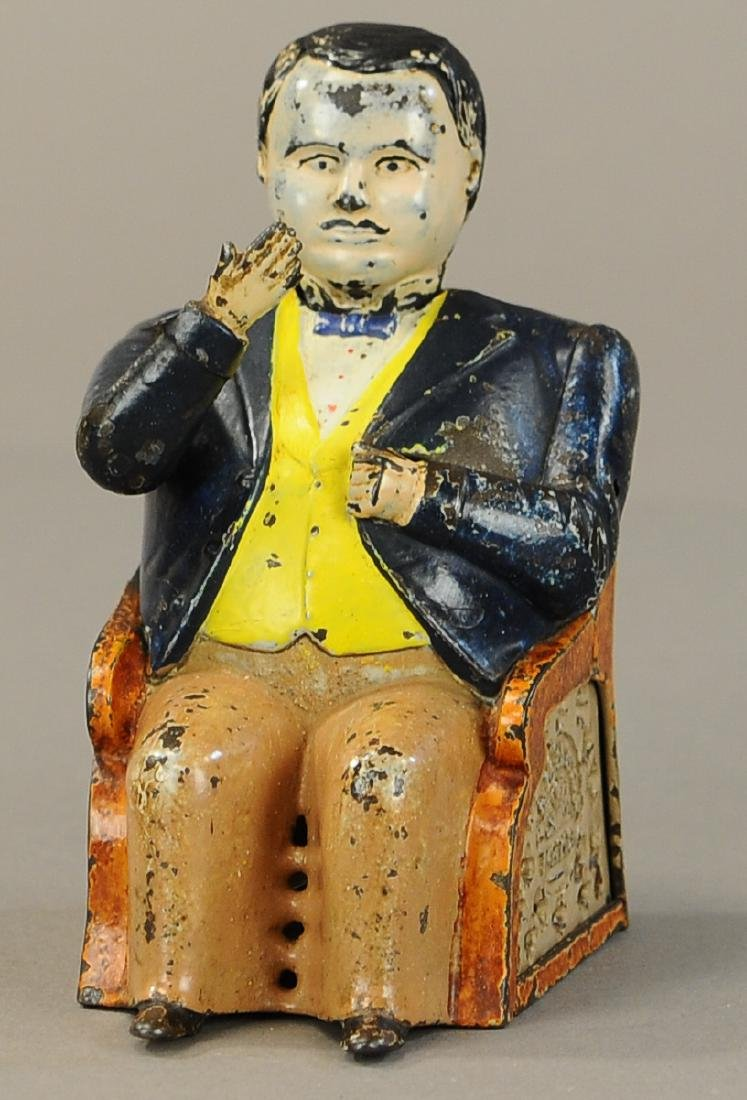 TAMMANY BOSS TWEED MECHANICAL BANK