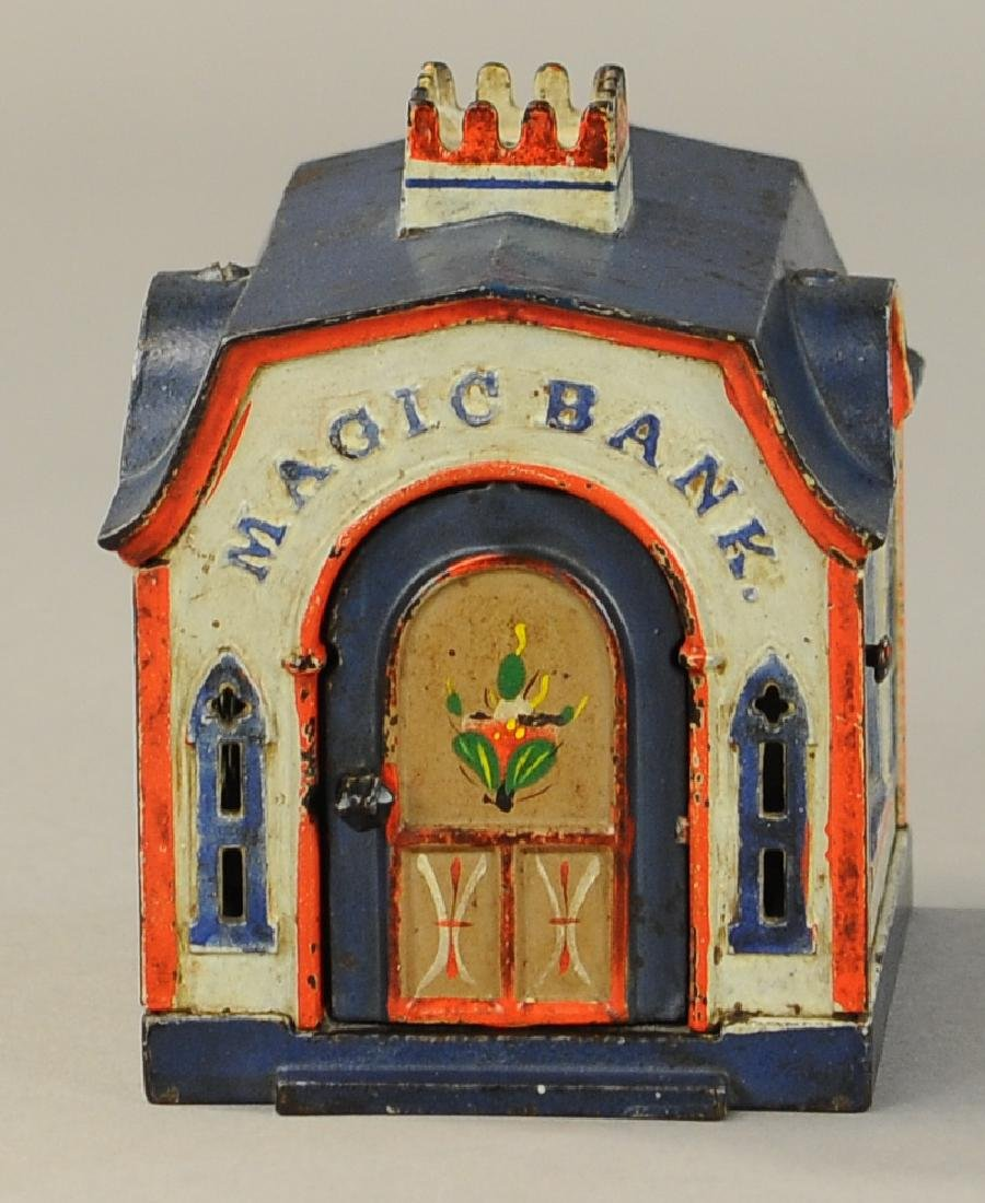 MAGIC BANK MECHANICAL BANK - 4