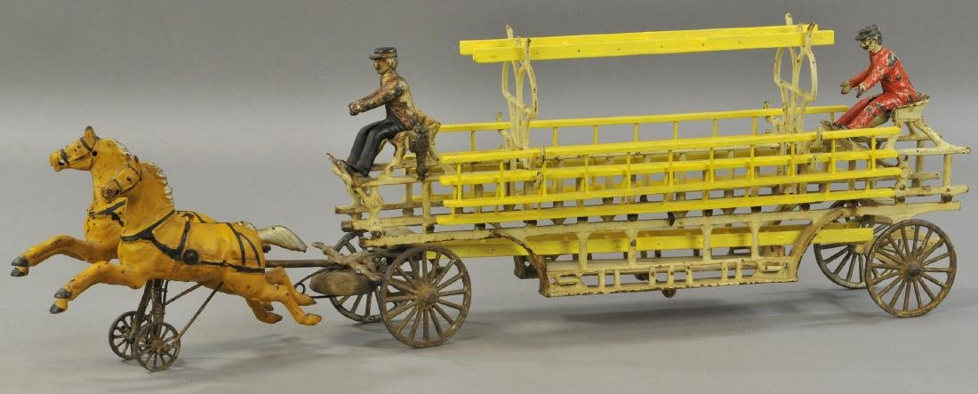 WILKINS HORSE DRAWN LADDER WAGON