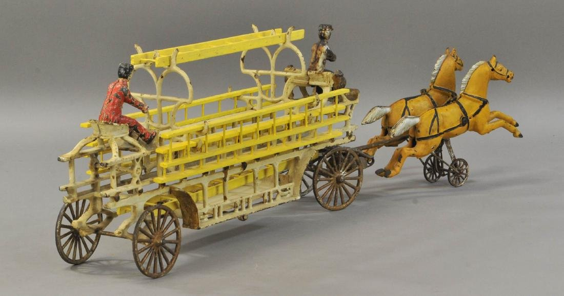 WILKINS HORSE DRAWN LADDER WAGON - 3
