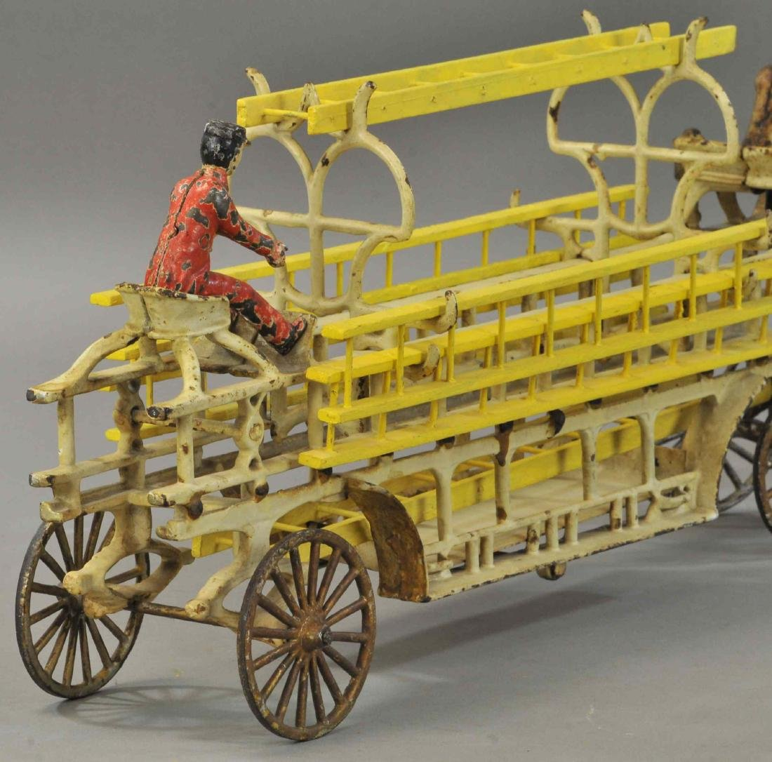 WILKINS HORSE DRAWN LADDER WAGON - 4