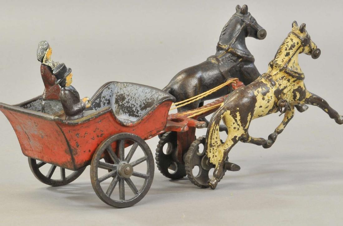 CARPENTER HORSE DRAWN PLEASURE WAGON - 3