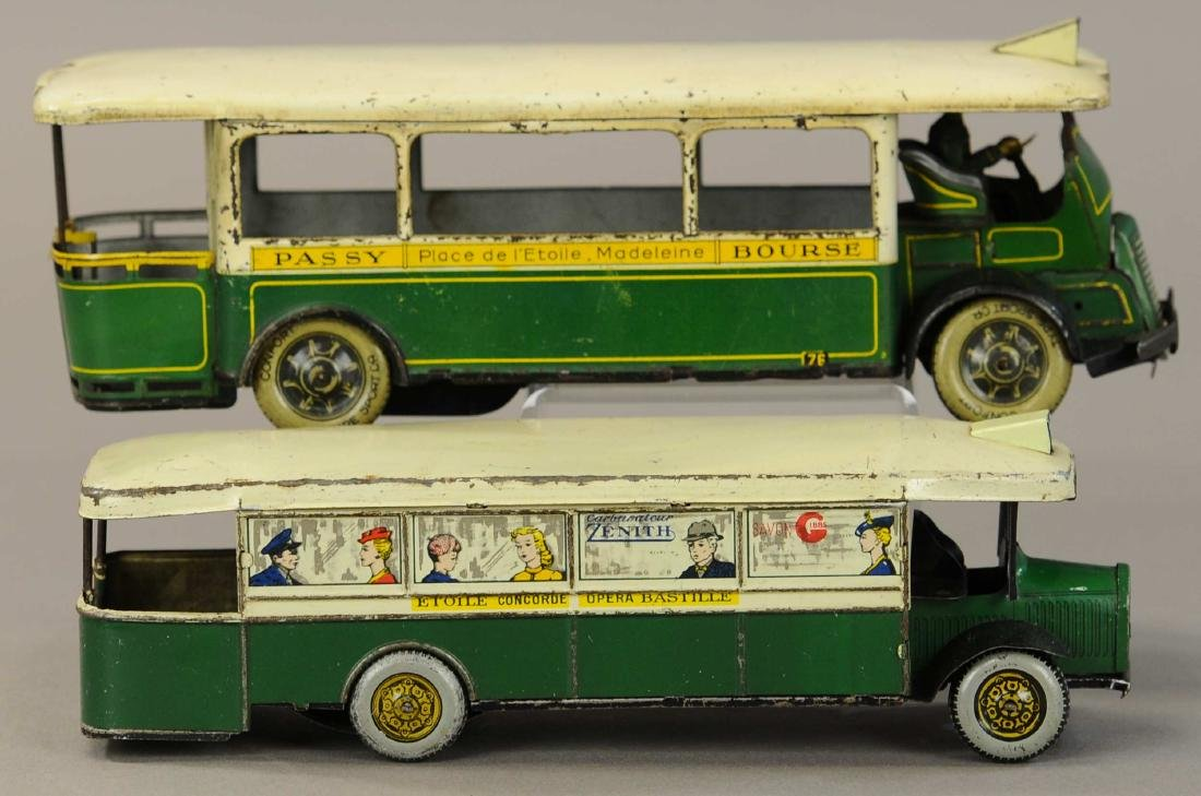 PAIR OF LARGE ROSSIGNOL TROCADERO BUSES