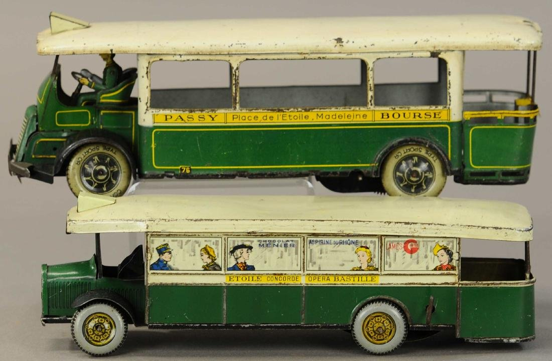 PAIR OF LARGE ROSSIGNOL TROCADERO BUSES - 2