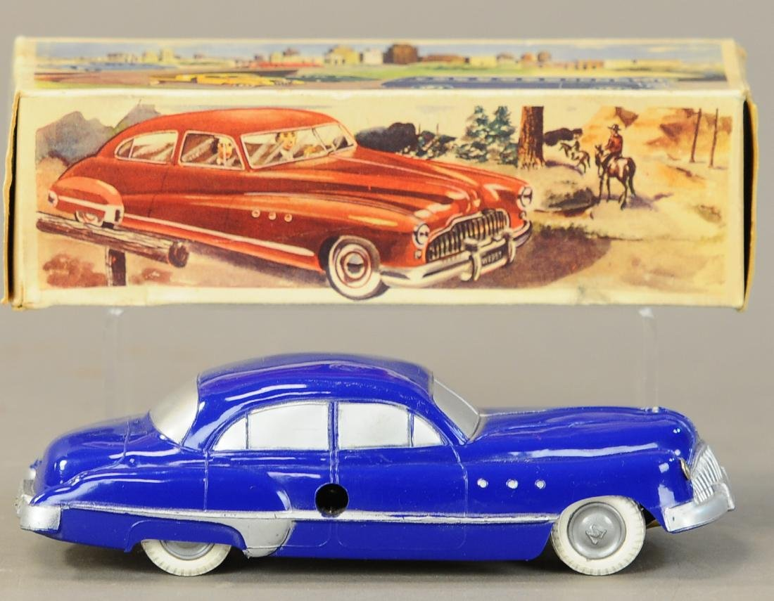 BOXED WITTROCK DENMARK WIND-UP BUICK