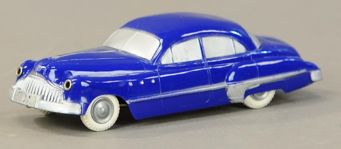 BOXED WITTROCK DENMARK WIND-UP BUICK - 2