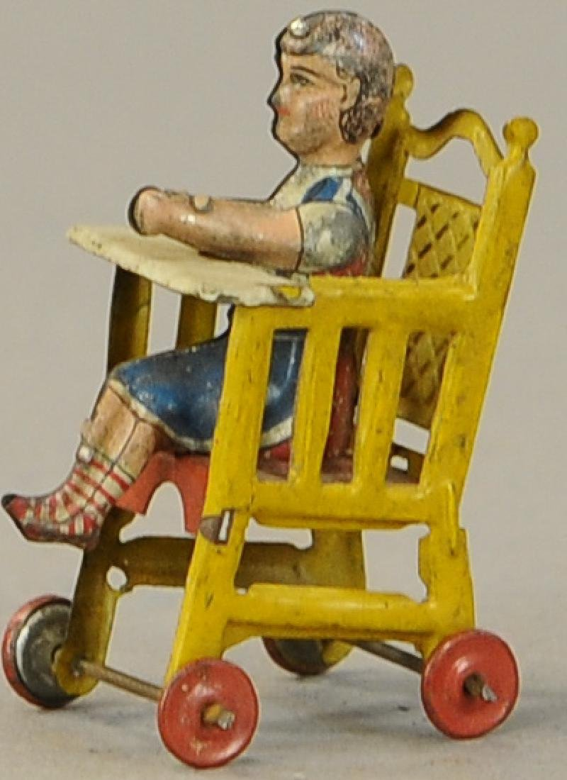 DISTLER PENNY TOY DOLL IN HIGHCHAIR