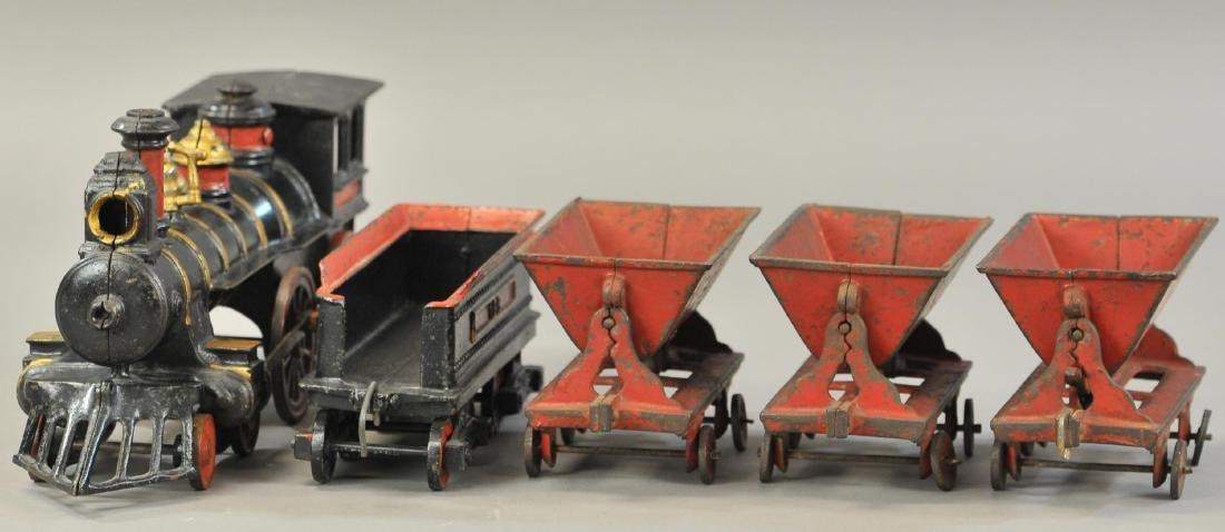IVES MINING FLOOR TRAIN SET - 3