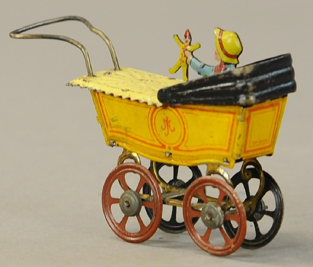 MEIER BABY CARRIAGE W/ DOLL PENNY TOY - 2