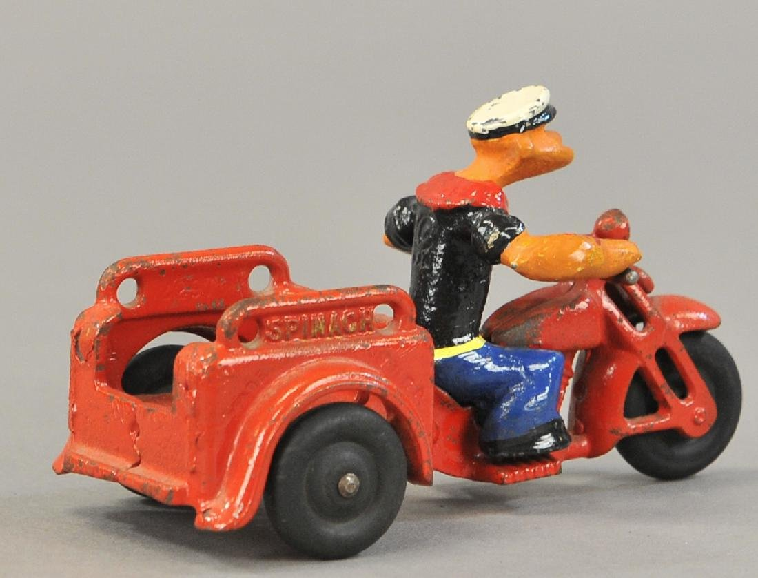 POPEYE SPINACH DELIVERY CYCLE - 2