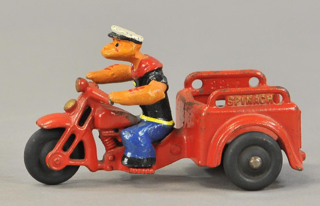 POPEYE SPINACH DELIVERY CYCLE - 3