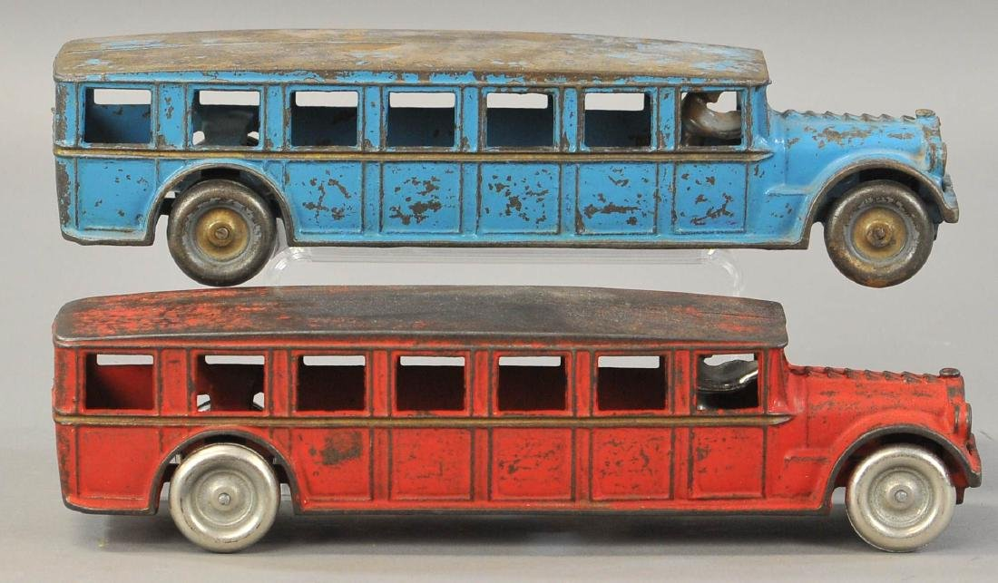 PAIR OF ARCADE FAGEOL BUSES - 2