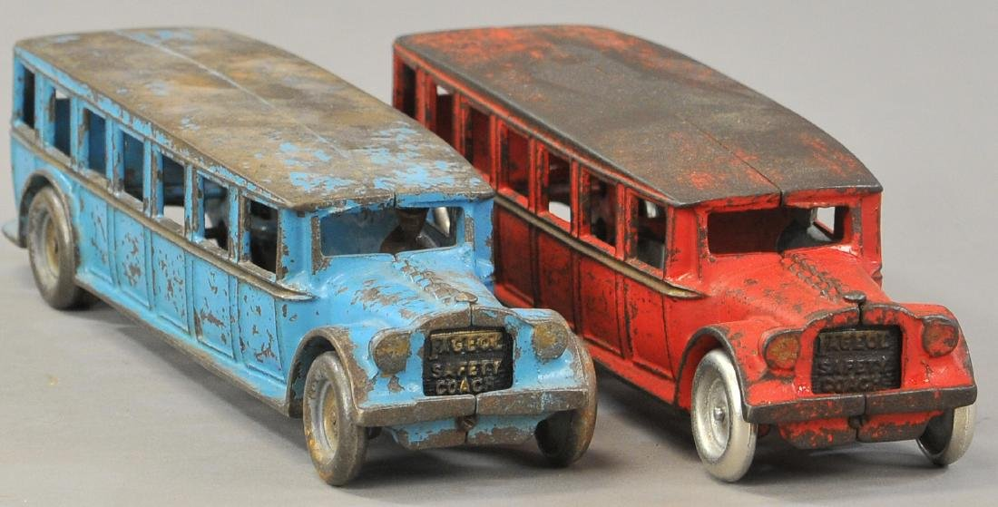 PAIR OF ARCADE FAGEOL BUSES - 3