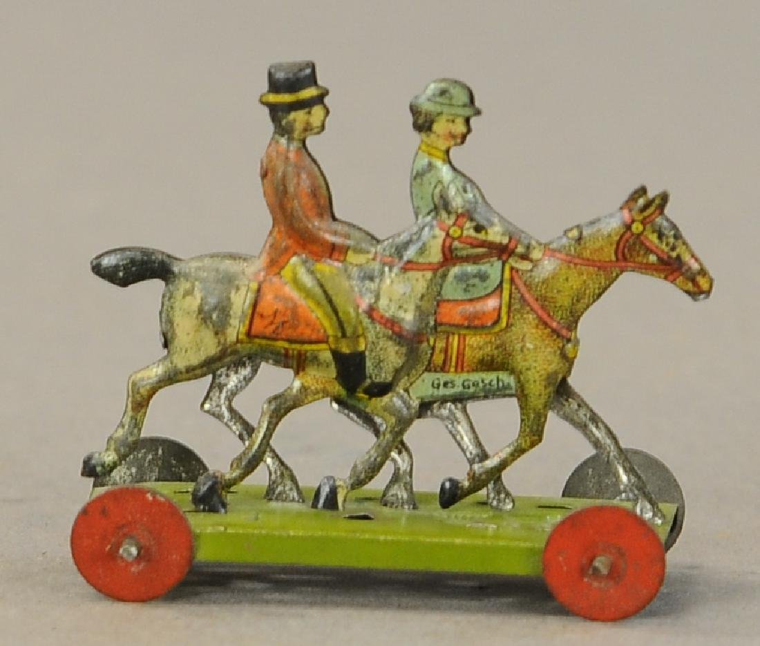 MEIER COUPLE HORSEBACK RIDE PENNY TOY