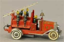 KELLERMAN FIRE TRUCK PENNY TOY