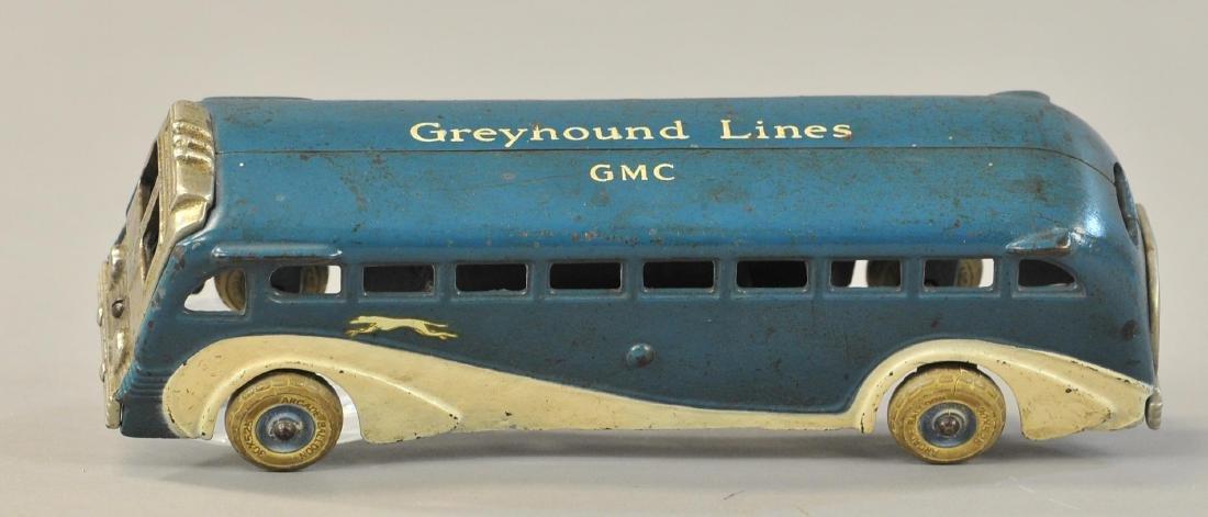 ARCADE GMC GREYHOUND BUS