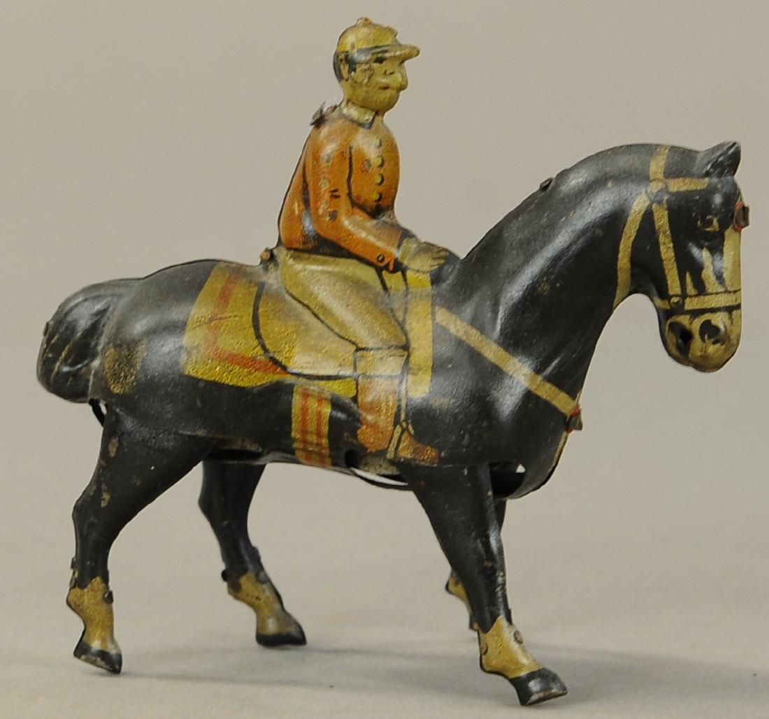 GERMAN WALKING HORSE WIND-UP TOY