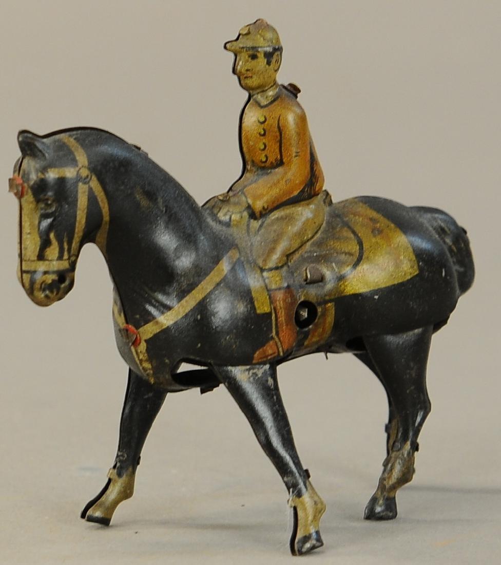 GERMAN WALKING HORSE WIND-UP TOY - 2