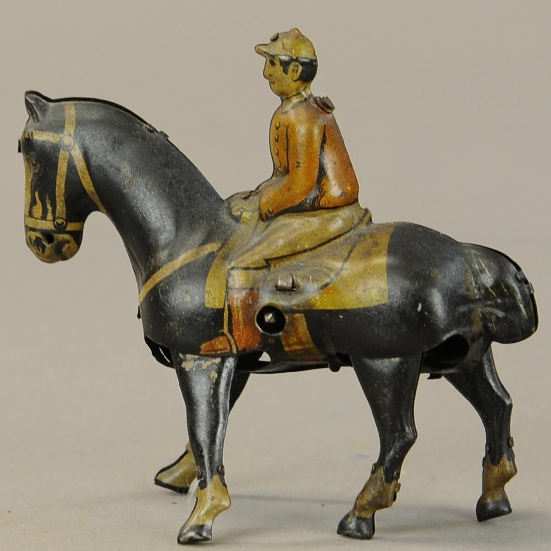 GERMAN WALKING HORSE WIND-UP TOY - 3